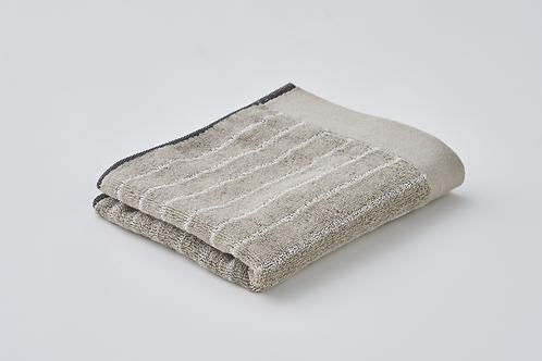 MURAKAMI Imabari Washi Wash towel Beige Stripe