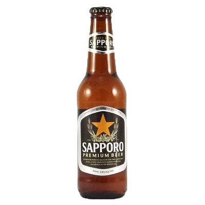 SAPPORO Draft Beer 355ml