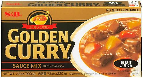 SB Golden Curry Hot 220g