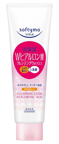 KOSE Softymo Cleansing Foam Hyaluronic Acid 190g