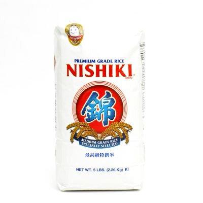NISHIKI Sushi Rice 2.26kg Calfornia
