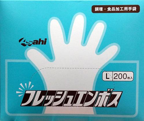 ASAHI Fresh Emboss L 200pc