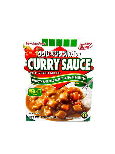 HOUSE Cookless Vegetable Curry M-Hot  200g