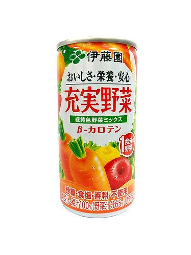 ITOEN Jyujitsu Yasai 190g 20cans