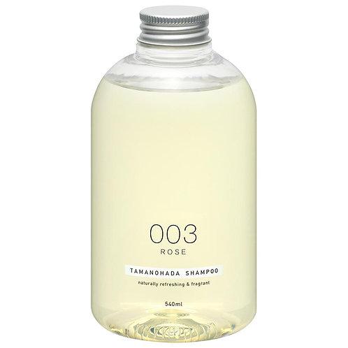 TAMANOHADA Shampoo 003 Rose 540ml