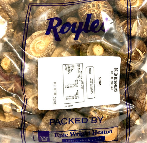 Dried Shiitake Mushroom 500g