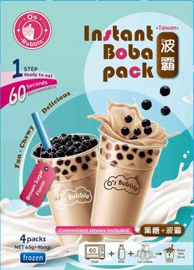 O's Bubble Brown Sugar 4pc 260g