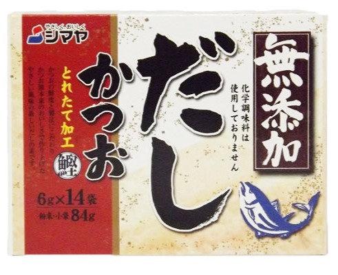 SHIMAYA Mutenka Katsuo Dashi 84g Bonito Stock Powder