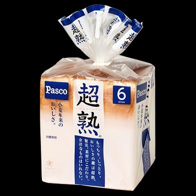 PASCO Chojuku Shokupan Bread 6-Slice 374g