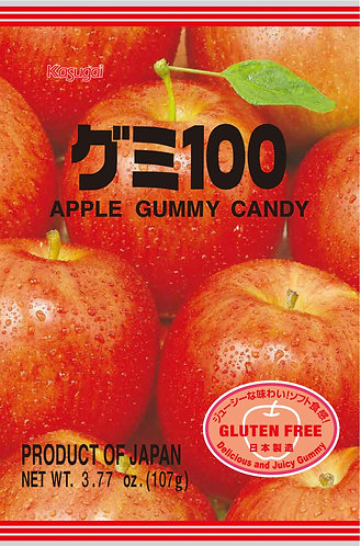 Gummy 100 Apple 107g