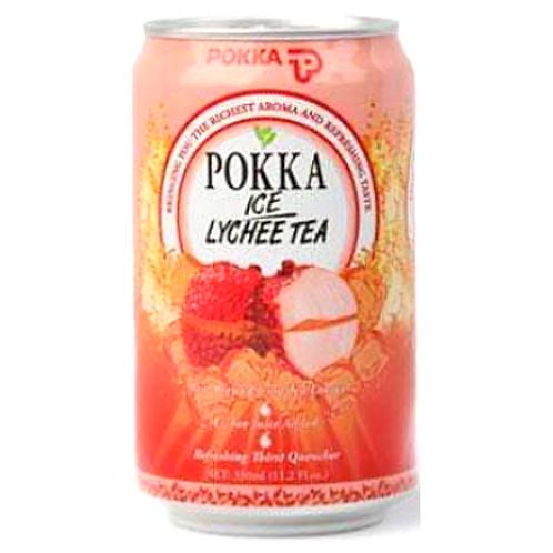 POKKA Ice Lychee Tea 330ml 24cans