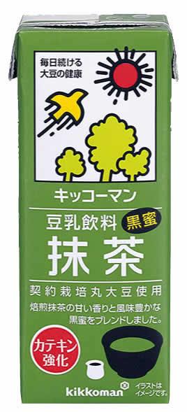 Kikkoman Soy Milk Matcha Green Tea 200ml