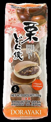SHIMIZU Dorayaki Kuri 5pc 230g