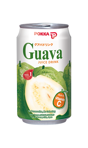POKKA Guava Juice Drink 300ml 24cans