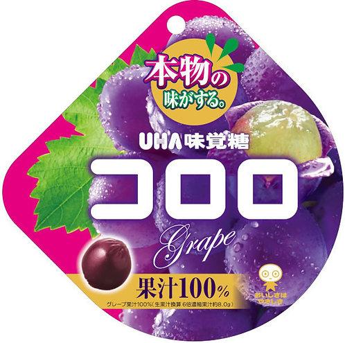 UHA Kororo Grape 48g