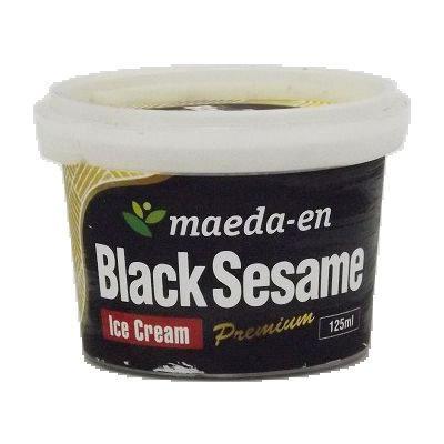 MAEDA EN Black Sesame Ice Cream1 125ml