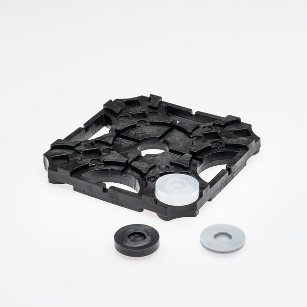 Ausgleichsstück 7 mm transparent