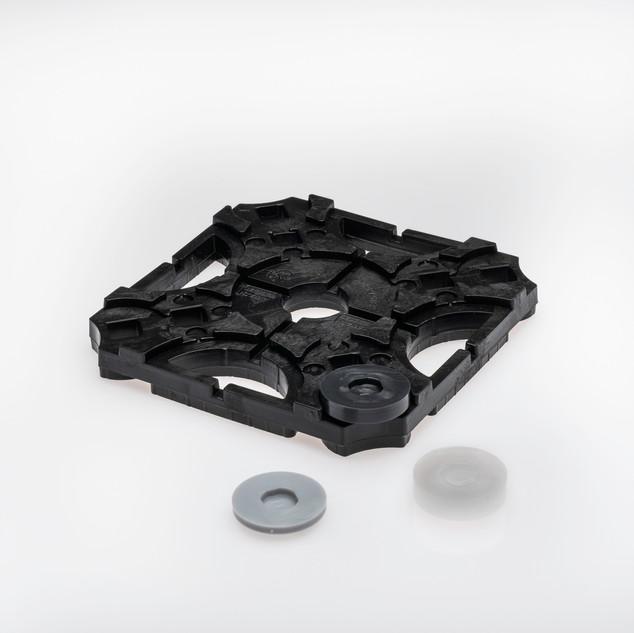 Ausgleichsstück 5 mm schwarz