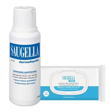 SAUGELLA® DERMOLIQUIDO 500 ml + 25 salviette