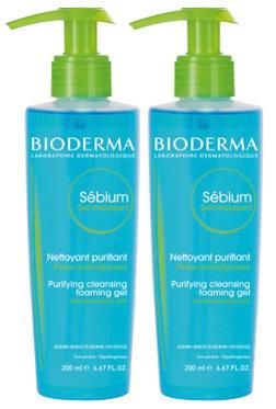 BIODERMA SEBIUM Gel Moussant       2 confezioni da 500 ml