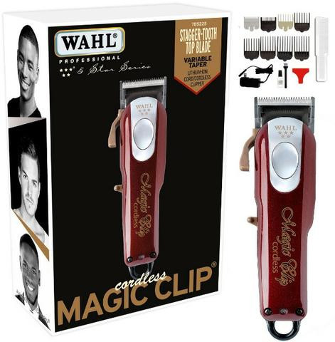 982c87815 Magic Clip Cordless + Shaver Andis + Slimline Pro Li