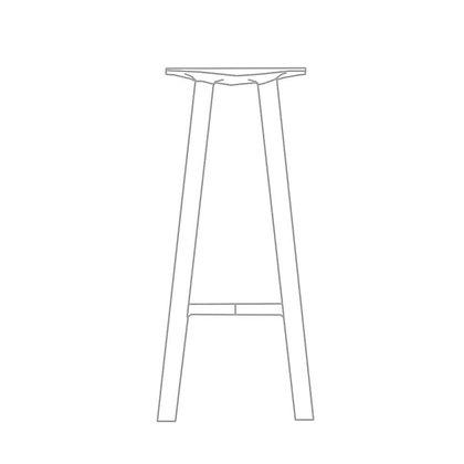 LE1 bar stool