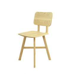 LE2 chair is ash / ash