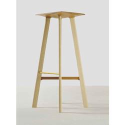 ash/cherry bar stool