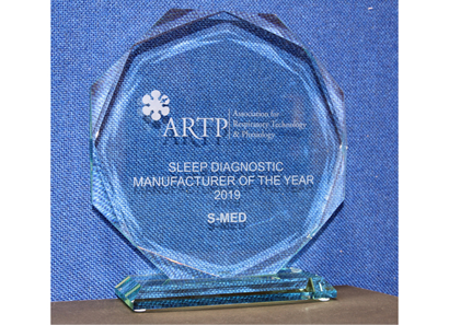 ARTP Sleep Diagnostic Manufacturer of the year 2019 Winners!