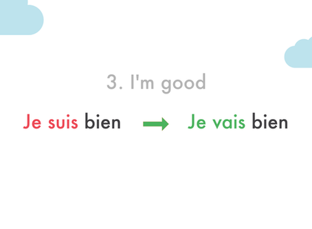 6 common French mistakes English speaker make