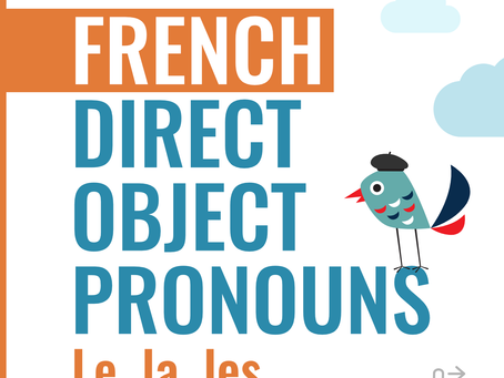 French Direct Object Pronouns