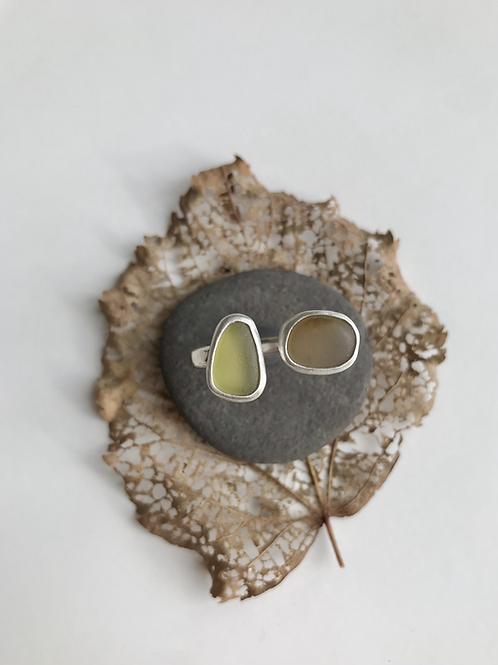 Dual Stone Autumn Ring