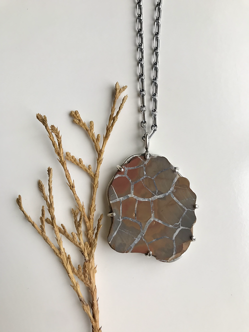 Septarian Stone Necklace