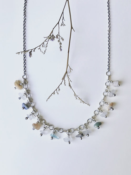 Lake Michigan Pebble Necklace