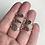 Thumbnail: CLEARANCE Autumn Pebble Rings