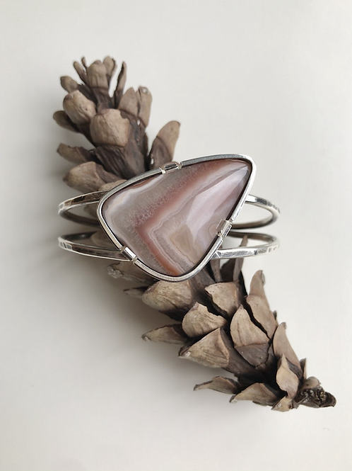 Lake Superior Agate Cuff