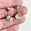 Thumbnail: 14K Gold Michigan Greenstone Earrings