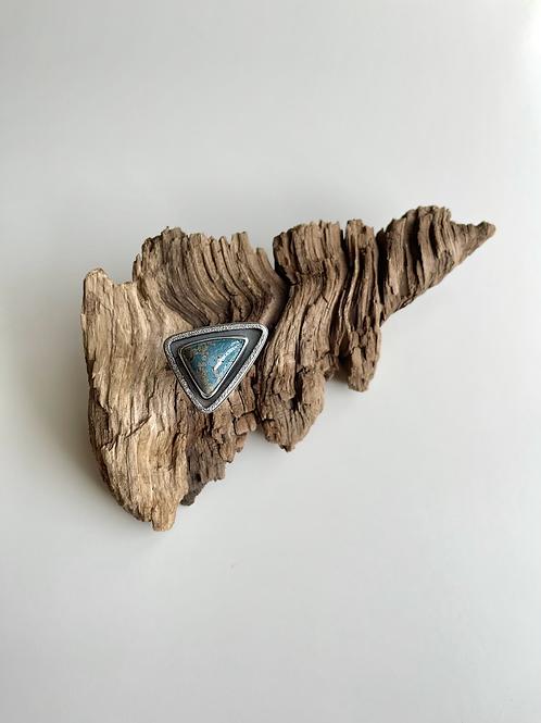 Leland Blue Triangle Statement Ring