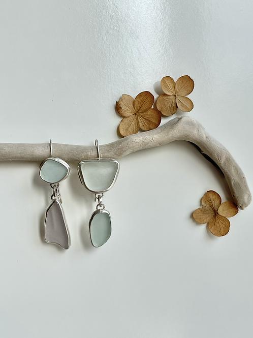 MOD Beach Glass Earrings