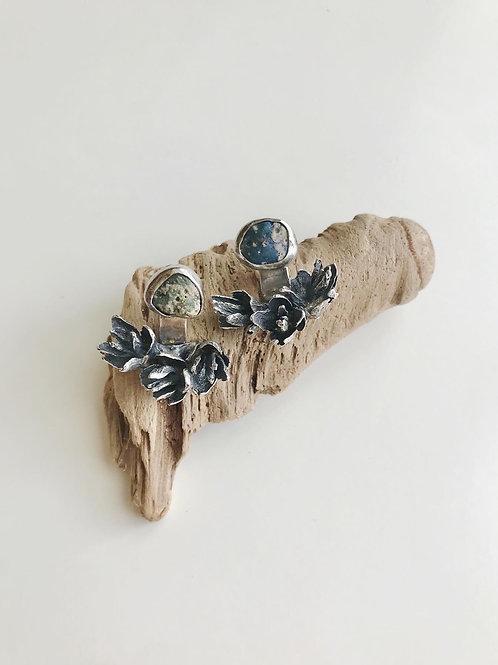 Leland Blue Cedar Cone Ear Jackets