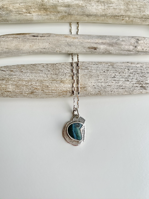 Leland Blue Rolled Nugget Necklace