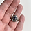Thumbnail: Chunky Knife Edge Reticulation Rings - Small Sapphire Blue