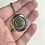 Thumbnail: Lake Superior Beachstone Dome Necklace