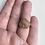 Thumbnail: Hammered Feldspar Ring
