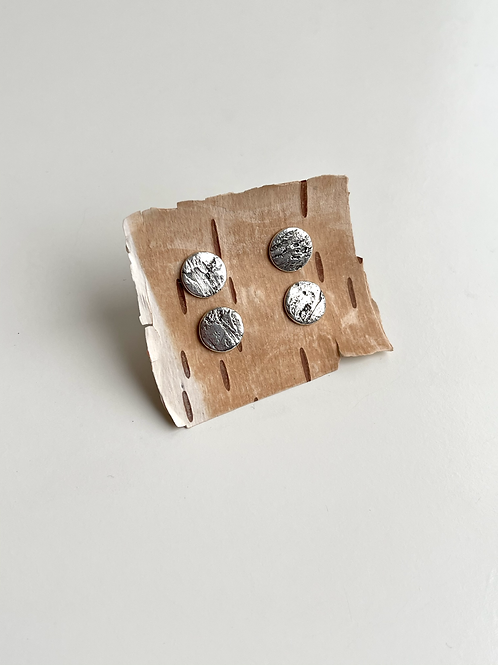 CLEARANCE Birch Bark Studs