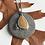 Thumbnail: Yellow Beachstone Sprig Necklace