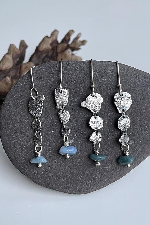 CLEARANCE Skipping Stone Earrings