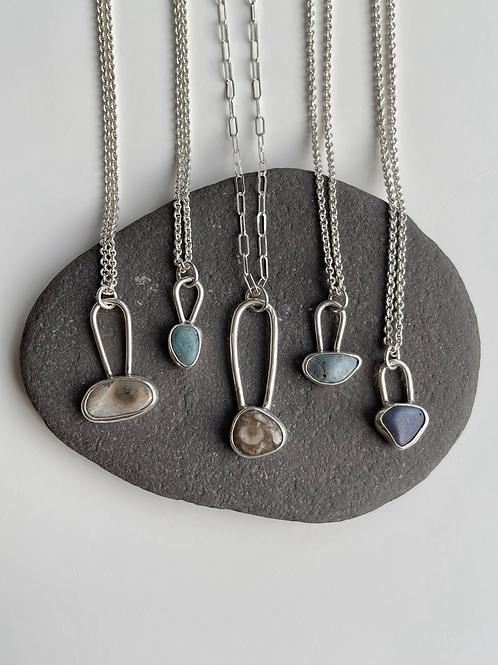 CLEARANCE Lake Michigan Mini Necklaces