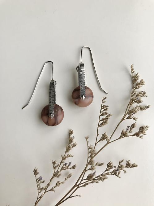 Kona Dolomite Wheel Earrings