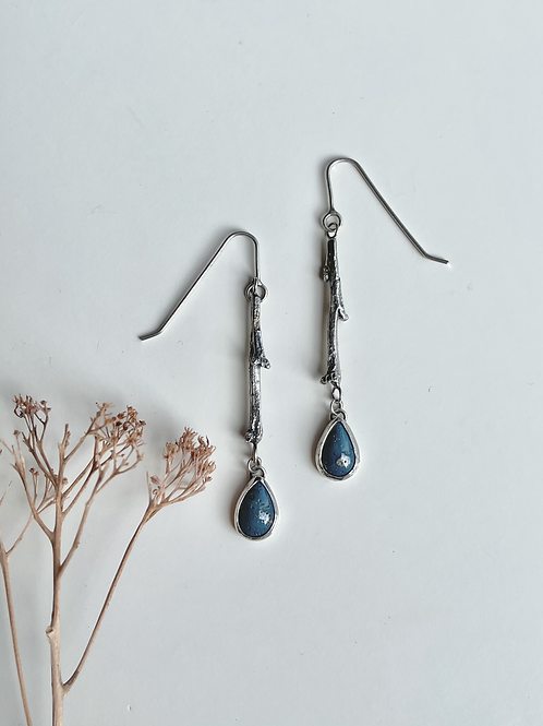 Leland Blue Branch and Bud Dangles
